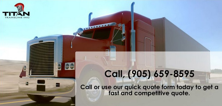 trucking quotes Van Anda