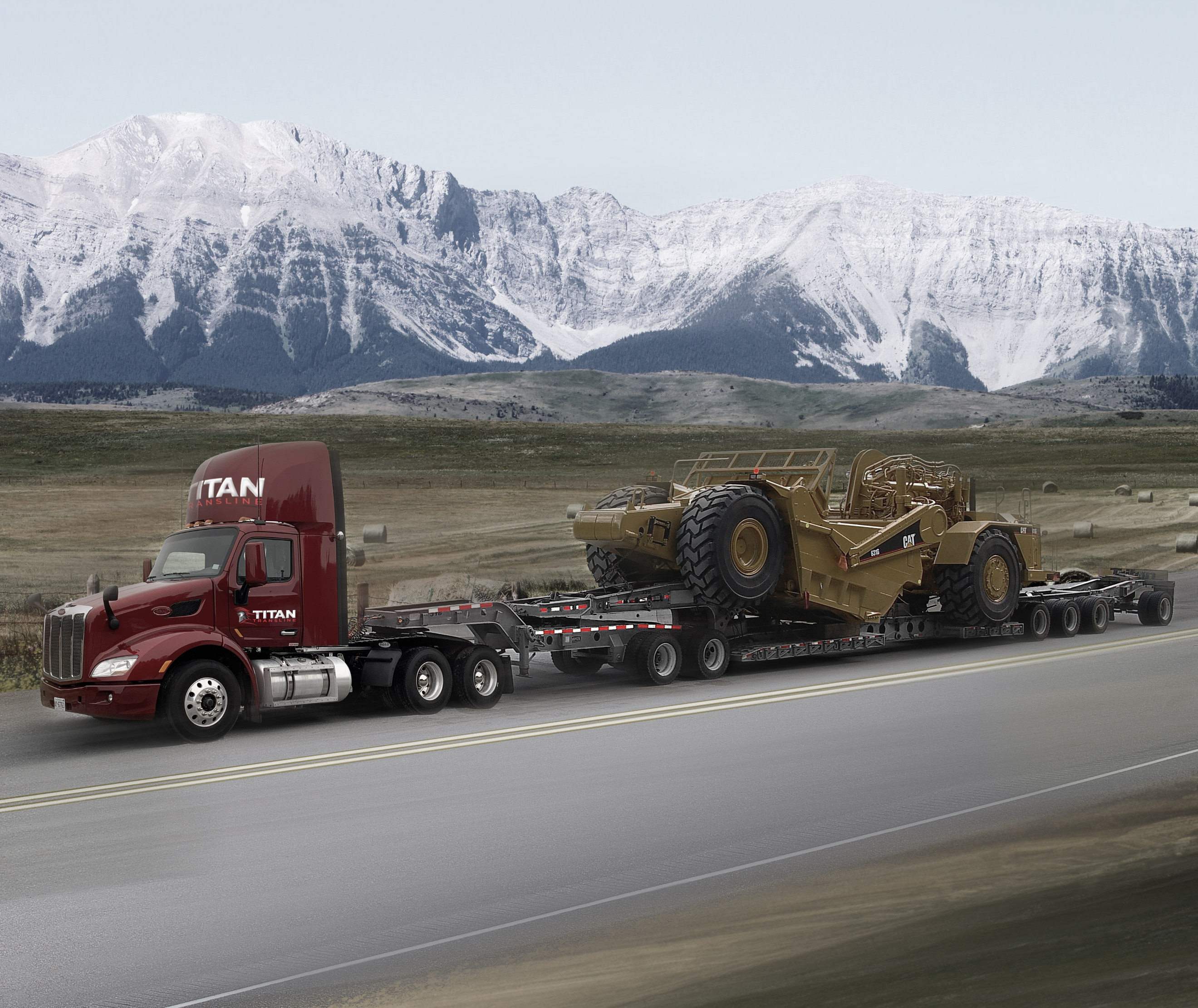 Cross-border oversized Trucking transport