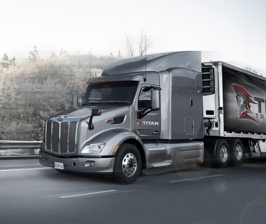 Cross-border temperature-controlled Trucking